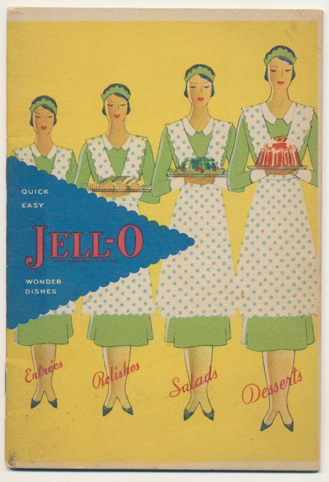 1930 Jello Advertising Cook Book