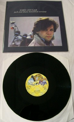 John Cougar Mellencamp Fan Club Lot + Unedited LP & Autograph