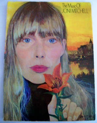 1969 Joni Mitchell Guitar Song Book - Self Portrait Cover