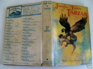 Jungle Tales Of Tarzan - Edgar Rice Burroughs - St John - HC DJ