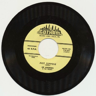 Just Suppose + It's Me - Lee Andrews & The Hearts