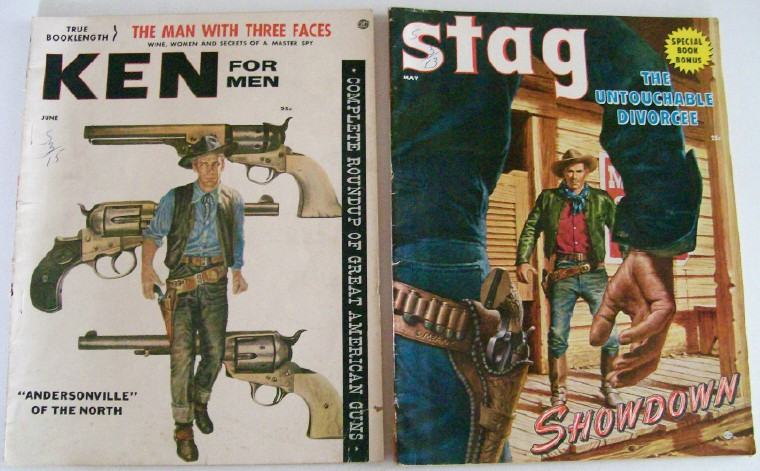 1950s Men's Cheesecake Magazines - Ken & Stag - Vol 1 #1