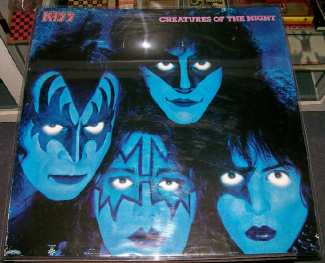 KISS Creatures Of The Night Poster - Rare - Matches The Album