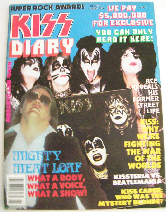 1979 Super Rock Awards Mag KISS Diary & KISS Features