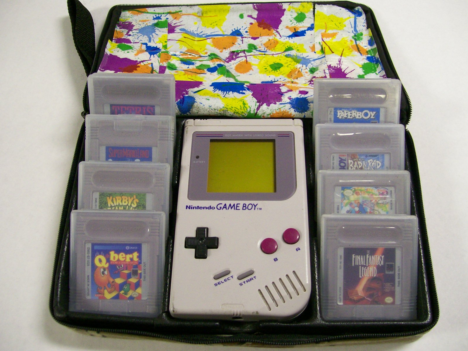 Nintendo Game Boy Grey Original Console Hand Held