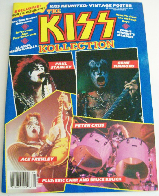 1989 KISS Kollection - Poster Pix Bios Discography ++