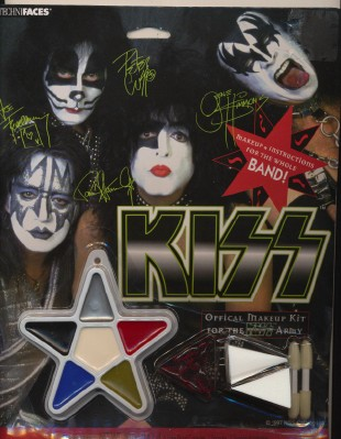 KISS Official Makeup Kit - For The KISS Army - New On Card