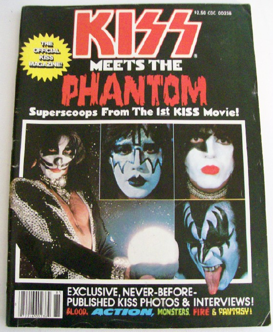 Vintage 1978 KISS Meets The Phantom Movie Photo Magazine