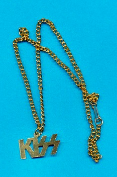 Vintage KISS Necklace