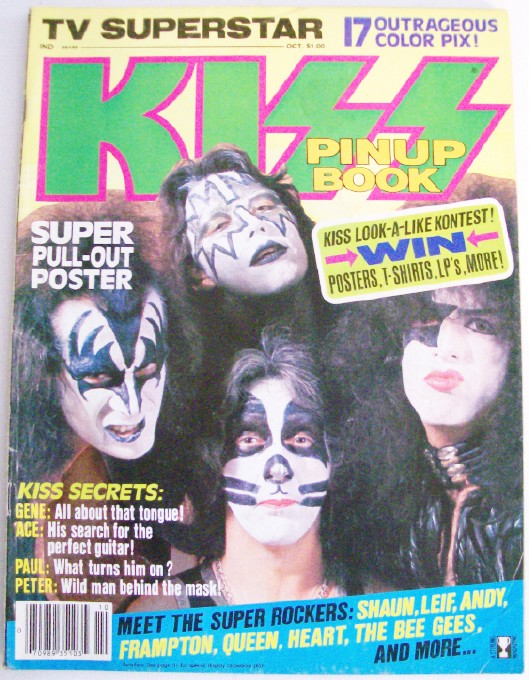 1978 KISS Pin-UP Book - Poster Pix Feature Articles