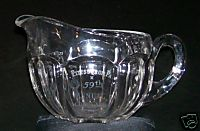 1912 Knights Templar Etched Glass Pitcher Pgh PA 59th Conclave