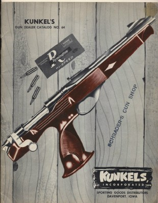 1964 Kunkel's Gun Dealer Trade Catalog