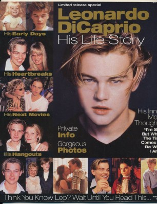 1998 Leonardo DiCaprio Photo Biography - His Life Story