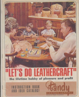 Vintage 1960s Tandy Leather Leathercraft Supply Catalog