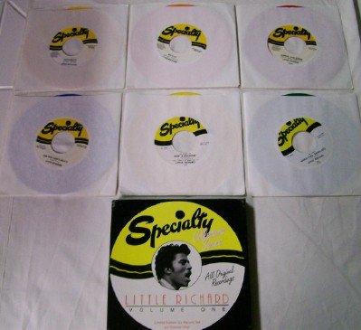 Little Richard Specialty Boxed Colored Vinyl 6-Record Set Vol 1