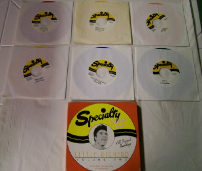 Little Richard Specialty Boxed Colored Vinyl 6-Record Set Vol 2