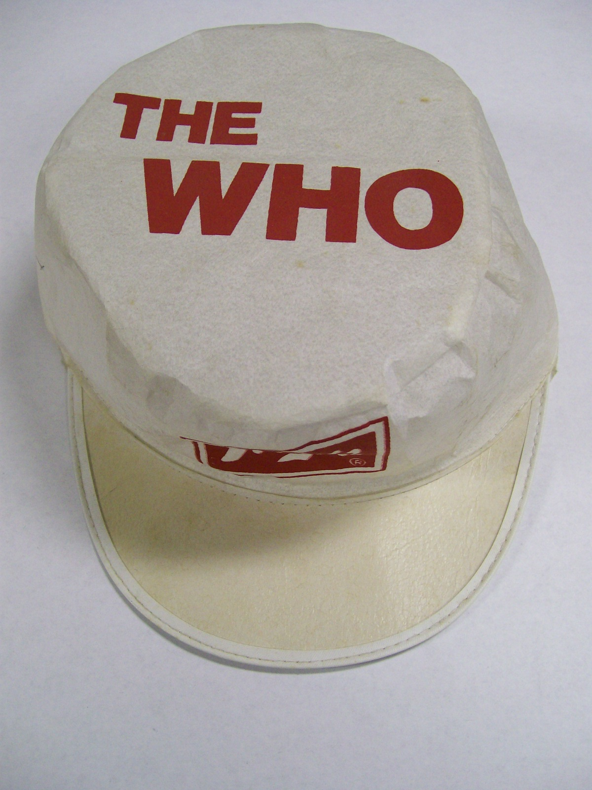 The Who officially licensed hat from Cincinnatti Concert