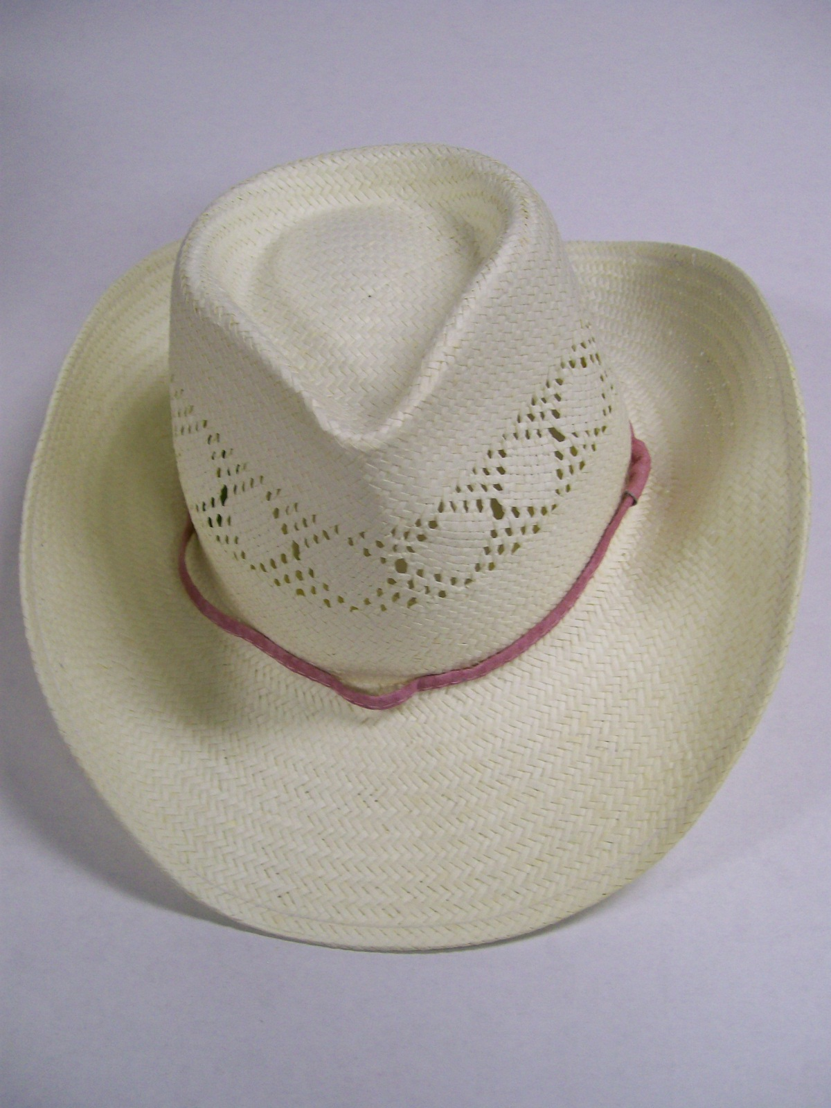 Florence Henderson Personal White Western Hat/ Autographed