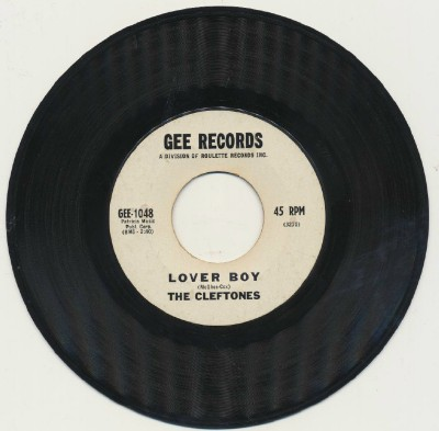 Lover Boy + Beginners At Love - The Cleftones - Promo