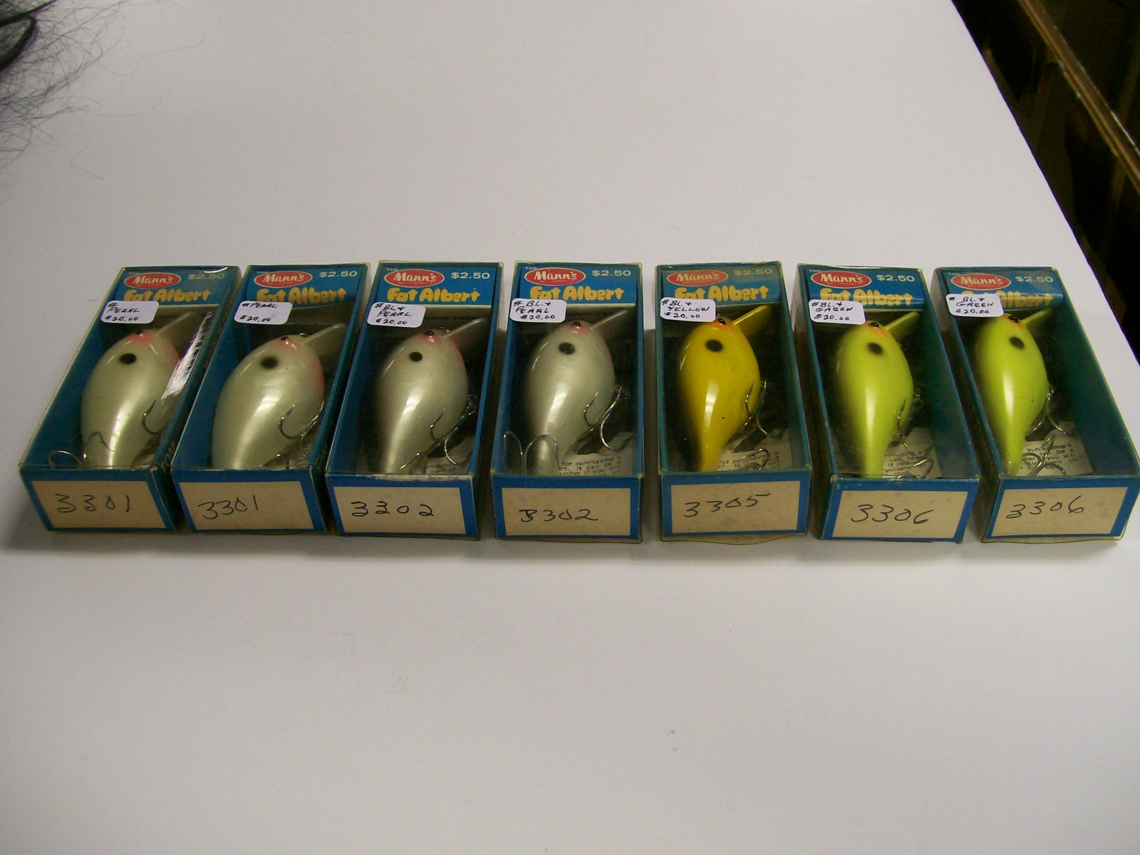 Tom Mann's Bait Co. Fat Albert Fishing Lure #3301,3302,3305,3306