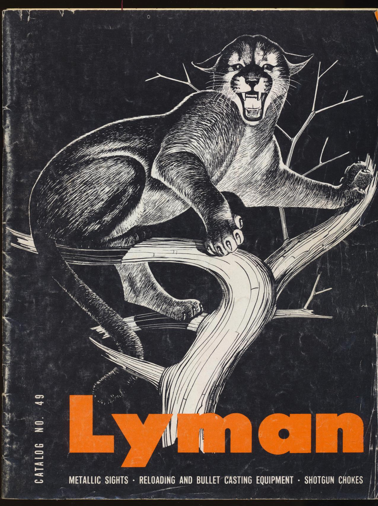 1968 Lyman Dealer Trade Catalog - Rifle Sights Reloading ++