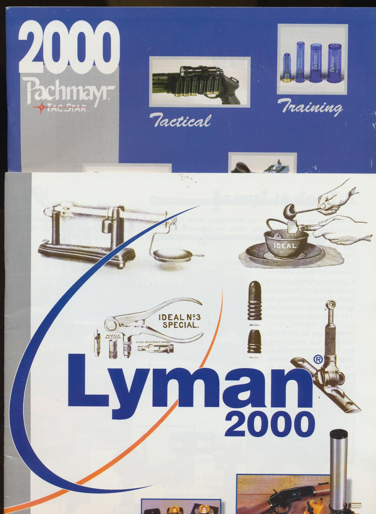 2000 Lyman & Pachmayr Dealer Trade Catalog Lot