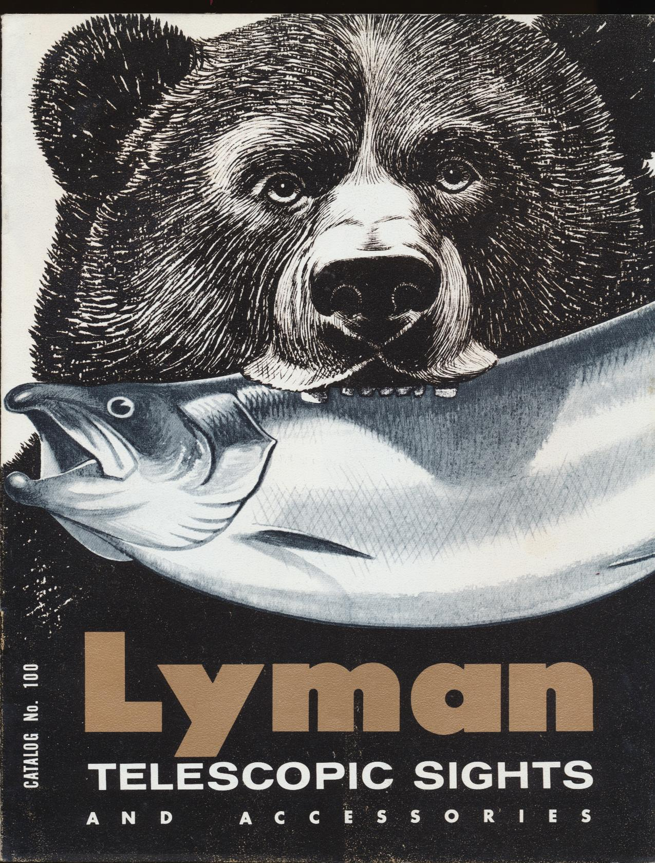 1969 Lyman Telescopic Sights & Accessories Dealer Trade Catalog