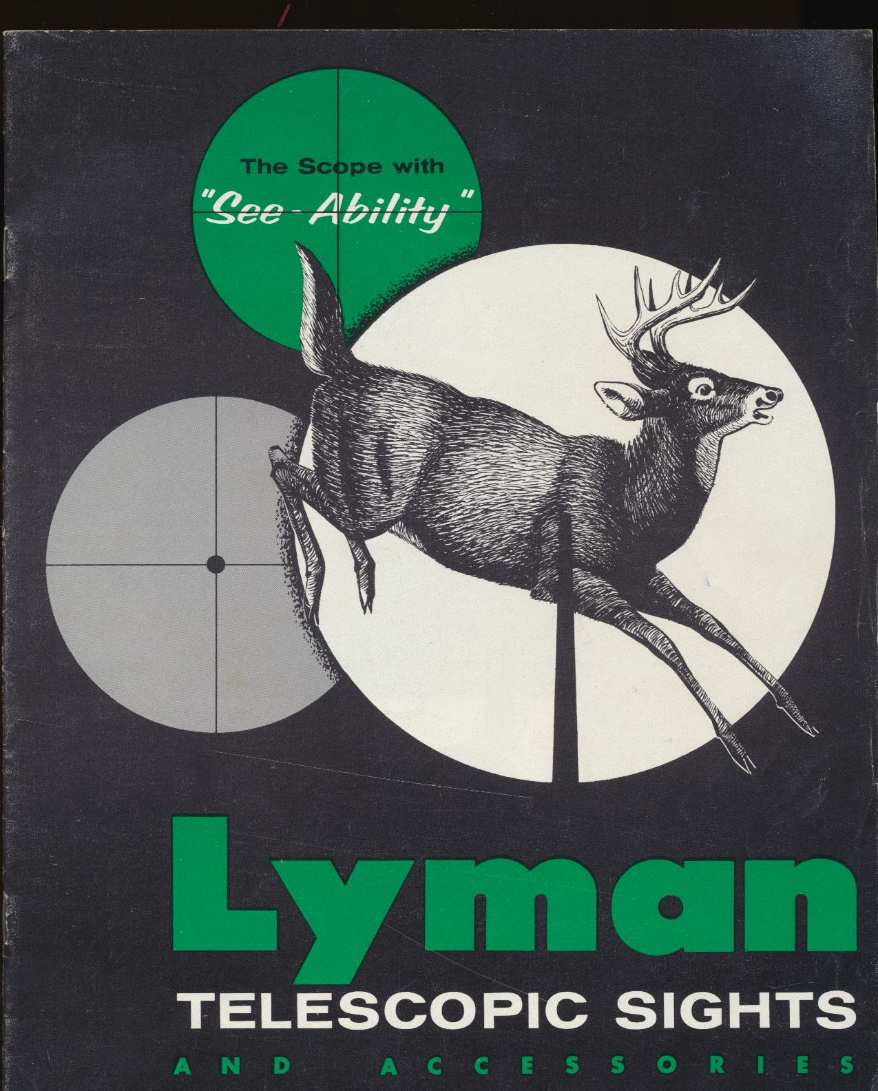 Lyman Telescopic Sights & Accessories Dealer Trade Catalog