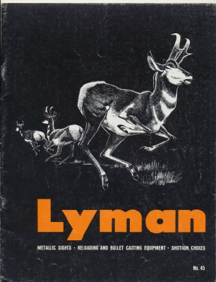 1964 Lyman Dealer Trade Catalog - Sights Reloading Chokes