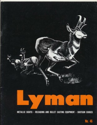 1965 Lyman Dealer Trade Catalog - Sights Reloading Chokes