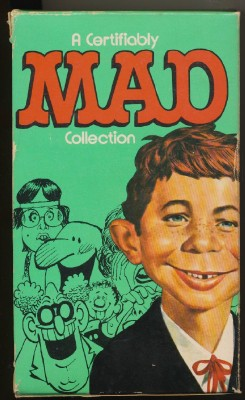 1970s Boxed Set Of 5 MAD Magazine Paperback Books