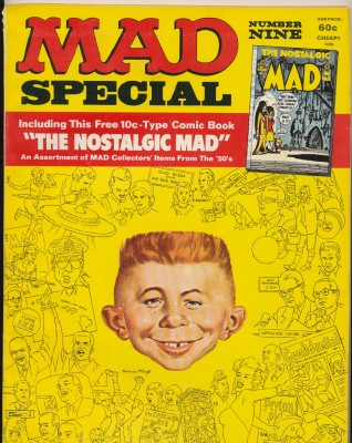 MAD Magazine Special #9 With Nostalgic MAD Comic Book #1