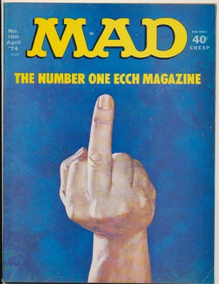 April 1974 MAD Magazine #166 - The Finger