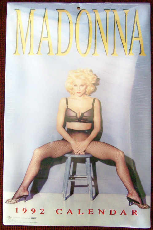 Vintage 1992 Madonna Calendar - Mint In Unopened Package