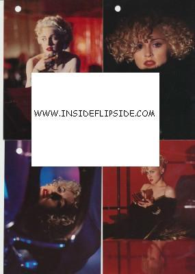 8 Postcards Of Madonna From The 1990 Dick Tracy Movie