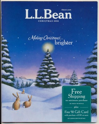 2008 L L Bean Christmas Catalog