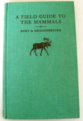1961 North American Mammals Field Guide With Skulls & Tracks