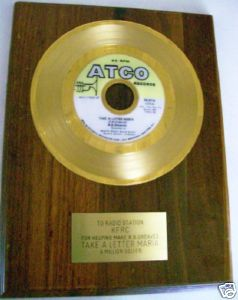 Take A Letter Maria - R. B. Greaves - Gold Award Record - KFRC
