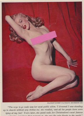 Lot of 4 Pin Up Photo's from the 1950's/ Marilyn Monroe Nude