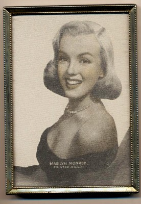 1950s Marilyn Monroe Photo Example In 5&10¢ Store Picture Frame