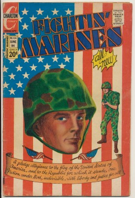 June 1972 Fightin' Marines Vol 4 No 104 20¢ Charlton