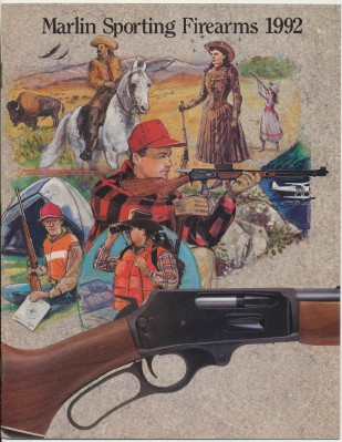 1992 Marlin Sporting Firearms Gun Catalog