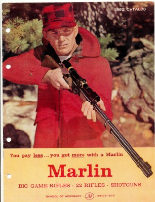1962 Marlin Catalog - Big Game Rifles 22 Rifles Shotguns