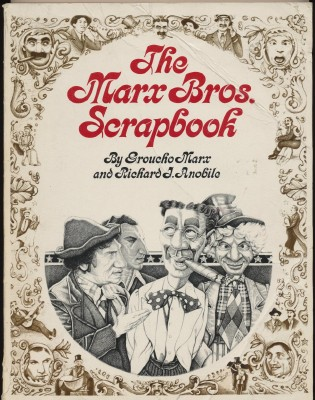 1974 Marx Brothers Scrapbook By Groucho Marx