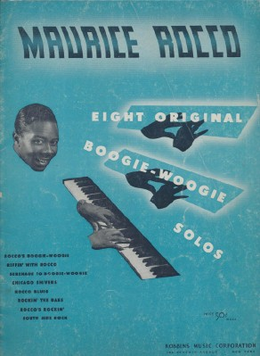 1943 Maurice Rocco Boogie Woogie Sheet Music Song Book