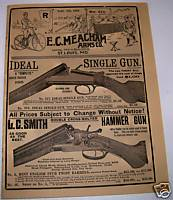 1892 E C Meacham Arms Co Gun & Bicycle Catalog
