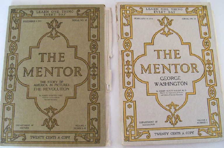 1913-1914 The Mentor Magazines