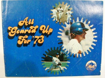 Vintage 1973 NY Mets MLB Advertising Promo Book