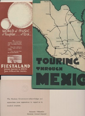 1930s Mexico Tourism Promo Book + Embossed Coat Of Arms