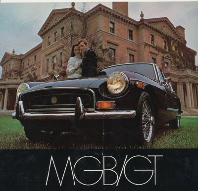 Vintage 1969 MGB/GT Showroom Sales Literature